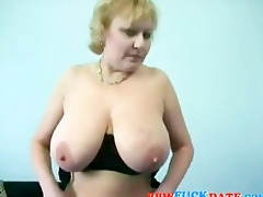 obese aged madam hungry form trio recent pecker