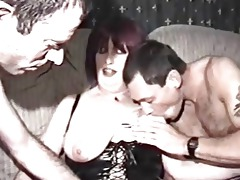homemade porn with aged woman and males