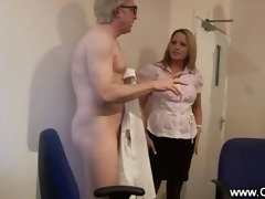 sexually excited pair gets caught giving blow job