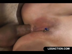 hard anal fuck for golden-haired