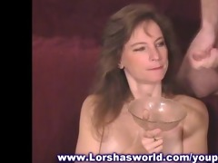 cum slider thick load drink by this mother i