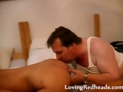 redhead mother i wild sucking in some