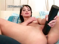 sexy brunette honey acquires her muff finger part3