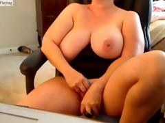 large boobs masturbation