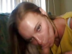 mature crackhead sucks schlong with her