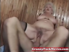 aged granny pussy pushed