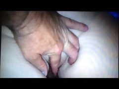 rubbing wifes large white curly dark hole &;