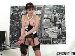 underware clad lady sonia sucks