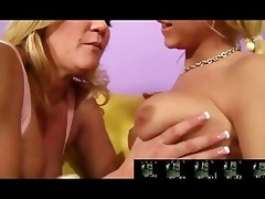 breasty mother i seduces sexy blonde