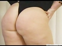 wicked bbw got a large butt