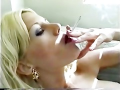 hawt golden-haired d like to fuck smokin