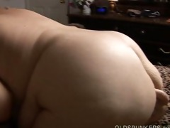 breasty older big beautiful woman redhead gives