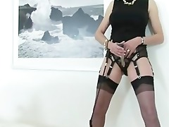 older honey with nylons receives in control with