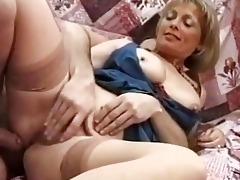 british milf politely acquires her vagina rammed