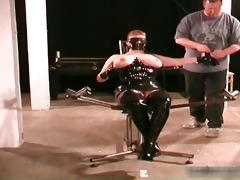 perverted d like to fuck receives bound and wet