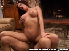 lovely older woman drilled from behind