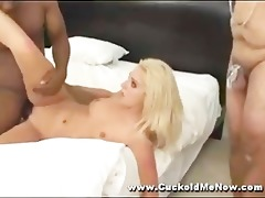 cuckold watches d like to fuck wife fuck
