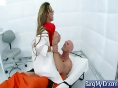 naughty doctor treat hot concupiscent pacient