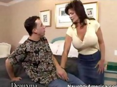 deauxma acquires her arse screwed by a juvenile