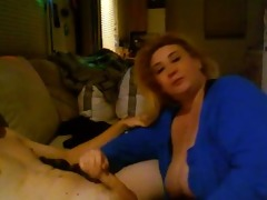 big beautiful woman gives worthy blow job
