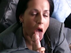brunette hair d like to fuck in nylons can part5