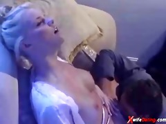 blond exotic white wife