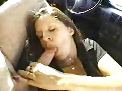 this wife fuck strangers in the car