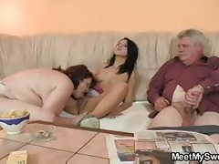 virginal gal is tempted by her boyfriends mommy