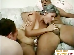 horny unshaved granny whore