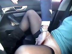 exhibition of my doxy in car fingered by