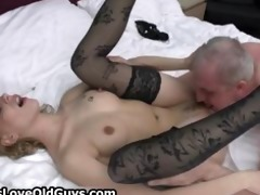 lustful grey old fellow t live without licking a