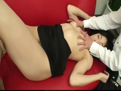 miho wakabayashi creampied in a three-some