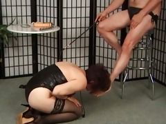 old aged whore loves punishing during