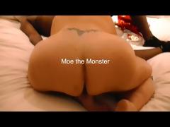 astounding goddess and moe the monster