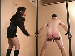 bizarre female-dominant way-out penis and balls