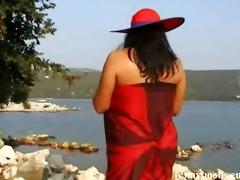 polish breasty aneta buena outdoor