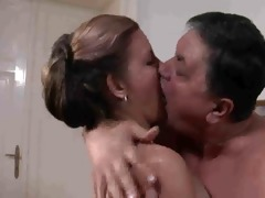 breasty wife screwed by old chap