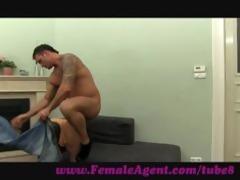 femaleagent. well hung man decorates my a-hole