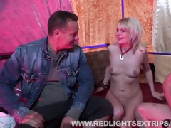 aged hooker acquires drilled chaps