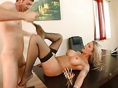 delightful breasty blond mother i receives anal