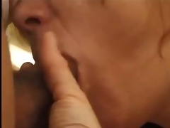 hirsute french mature receives drilled in the