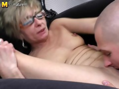 old older mommy acquires fucked by her toyboy