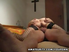 aged and breasty dilettante wife oral-service