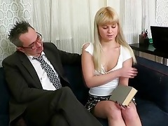 oral-service for aged teacher