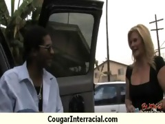 well hung darksome guy fucking hot cougar 5