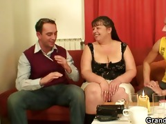a matter of joke studs group sex aged fatty