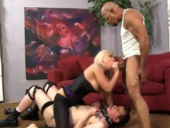 anal mayhem and cuckold domination with leya