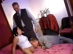 husband watching wife screwed by mafia chaps