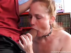 perverted aged sweetheart spicy enjoys a hard