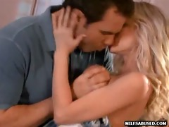 foxy blond d like to fuck getting her love tunnel